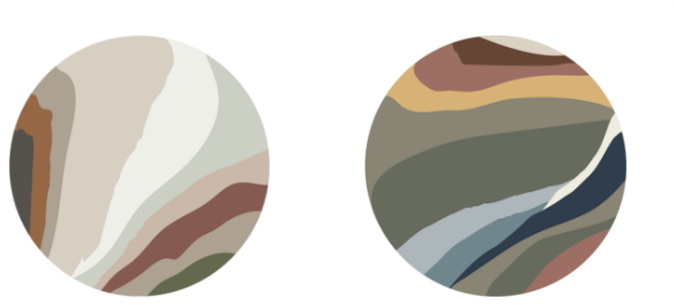 Sanctuary and Encounter palette from Sherwin Williams